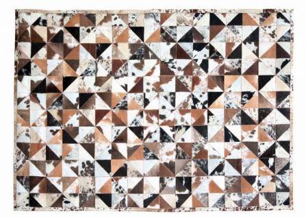 Teppich Braun Minor aus gefärbtem Kuhfell 200x300