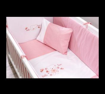 Cilek Little Love Baby Bettwäsche Set In Rosa Kaufen Bei Möbel Lux