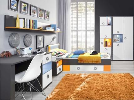 Jugendzimmer Set modernes Design Cosi 140x200
