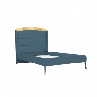 Design Jugendbett Elegant Blue 120x200