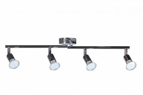 4er LED-Strahler Deckenleuchte Spotsystem LED Gelenksystem Decken Lampe Spot (EEK: A+)