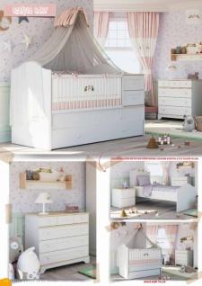 Mitwachsendes Babybett Bianca Baby mit Kommode - Vorschau 3