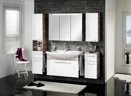 Badezimmermöbel Set in Weiß Verena