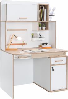 Cilek Dynamic Schreibtisch mit Aufsatz 110x71