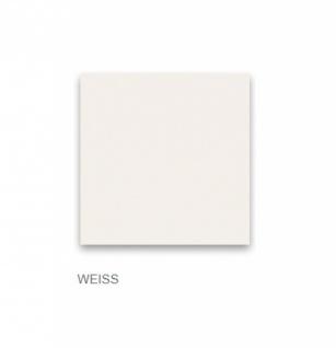 Nachtkommode Space mit Griffen in Weiß