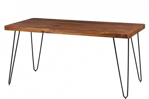 Massivholz Sheesham Küchentisch elegantes Design