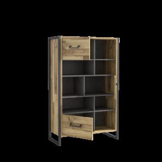 Büromöbel Set in Stabeiche Optik Hana 4-teilig - Vorschau 2