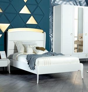 Jugendzimmer komplett Elegant White 7-teilig - Vorschau 2