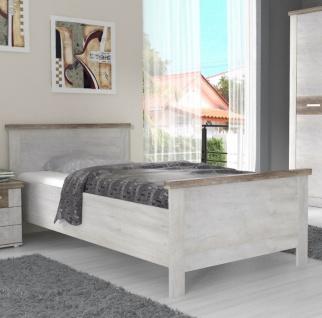 Schlafzimmer komplett Pinia Weiß Hedda 3-teilig - Vorschau 2
