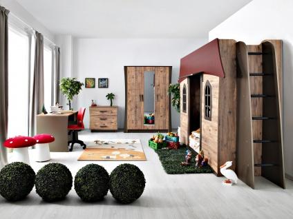Kinderzimmer Set 4-teilig Waldhäuschen my world