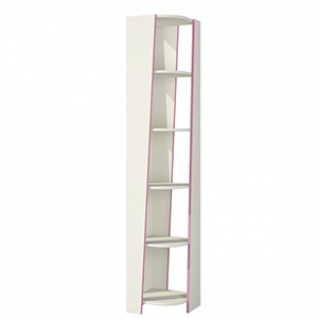 Bücherregal mit fünf Böden Rosalia in Creme Rosa