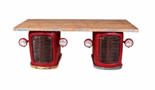 Schreibtisch Traktor Rot recycelt Diverse