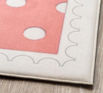 Cilek Kinderteppich Pastellfarben Happy 133x190 - Vorschau 2