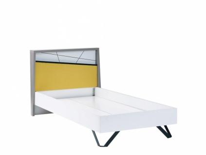 Design Jugendbett mehrfarbig Vector 100x200