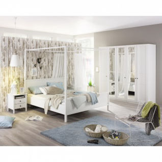 Komplett-Schlafzimmer MARIT IV (4-teilig) 160er Bett / 136er Schrank