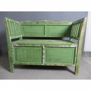 Sitzbank 03 mit 2 Schubladen verschiedene Farben 105 x 80 x 44 cm - Vorschau 1