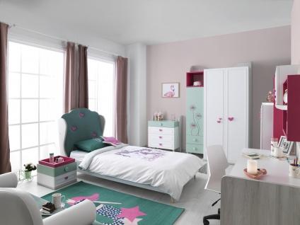 Jugendzimmer Set für Mädchen Candy young 7-teilig