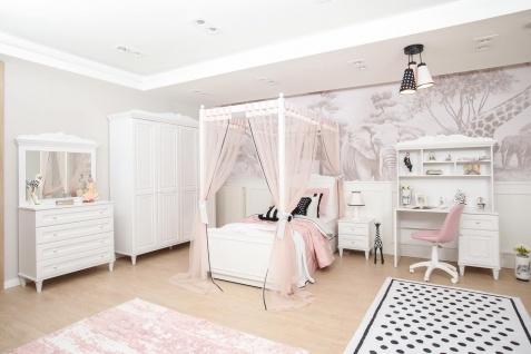 Almila Kinderzimmer Set Lory in Weiß
