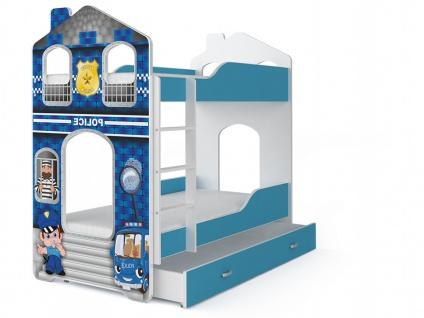 Etagenbett Fairy Polizei mit Matratze 80x180