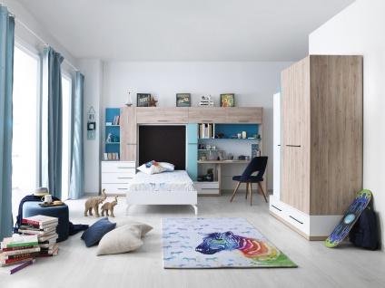 Kinderzimmer Set Born Blue 5-teilig mit Farbakzent