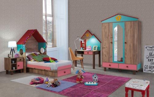 Kinderzimmer Komplettset Dream House 6-teilig