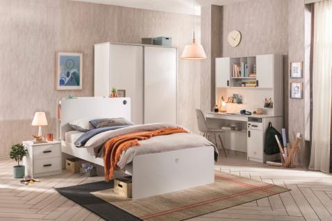 Cilek White Jugendzimmer Set 5-teilig 100x200