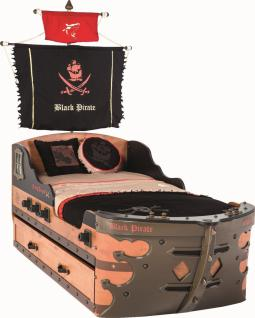 Cilek Black Pirate Piratenschiffsbett 90x195