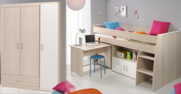 kinderhochbett in weiss online bestellen bei yatego. Black Bedroom Furniture Sets. Home Design Ideas