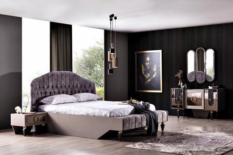 Schlafzimmer Set Lizbon mit Stauraumbett 160x200