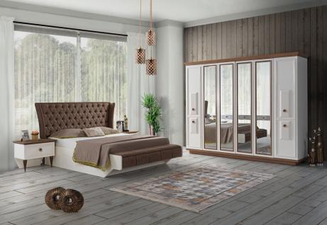 Komplettes Schlafzimmer Duru mit Stauraumbett