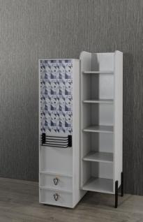 Titi Bücherregal Dynamic mit Tür und Schubladen