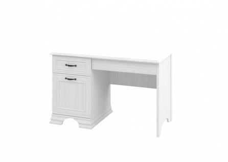 Neman Schreibtisch 1-türig Juna Landhausstil Weiß