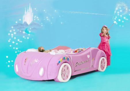 Autobett Käfer Princess in Pink Mädchenbett