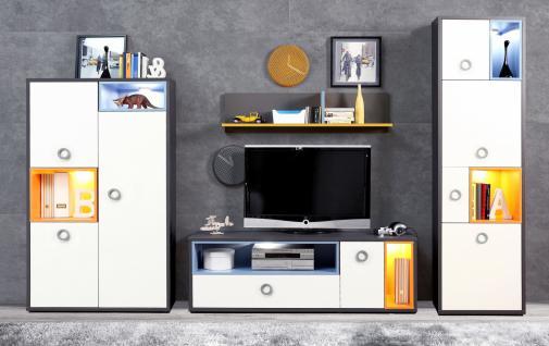 Wohnwand in modernem Design Cosi 4-teilig