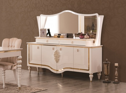 sideboard barock g nstig sicher kaufen bei yatego. Black Bedroom Furniture Sets. Home Design Ideas
