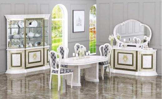 Barock Esszimmer-Set Limnos 4-teilig in Beige