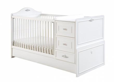 Cilek Romantica Baby Bett 75x115/160 mitwachsend