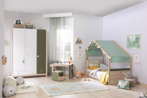 Kinderzimmer Cilek Montes mit Hausbett 4-teilig