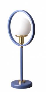 Almila Tischlampe Elegant Blue