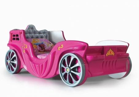 Kinderzimmer Set Kutschenbett in Pink Laila 3-teilig - Vorschau 2