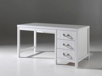Mädchenzimmer Set Iny 5-teilig in Weiß MDF - Vorschau 3