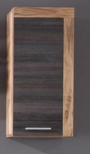 Hängeschrank Embla 1-türig in Nussbaum Optik