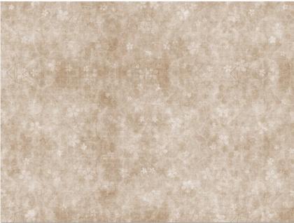 Kinderteppich in Beige Laila mit Blumenmuster 180x120