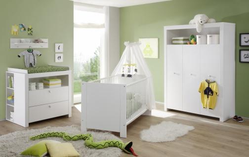 Babyzimmer Set Rory 4-teilig in Weiß