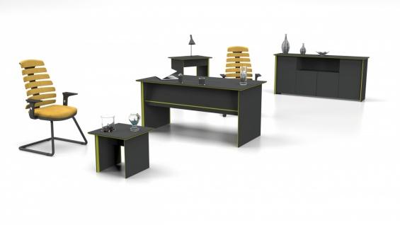 Büromöbel komplett Natus 3-teilig 160x80