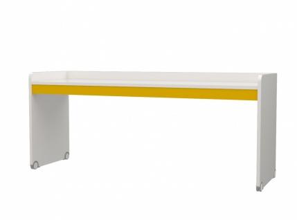 Jugend Schreibtisch in Weiß Gelb Neo