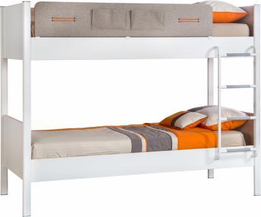 Cilek Dynamic Etagenbett 100x190 in Weiß