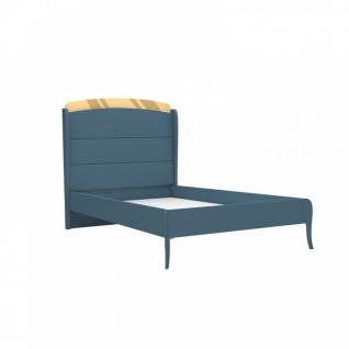 Design Jugendbett Elegant Blue 100x200