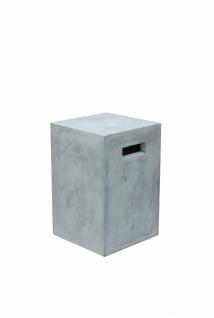 Sit Blumensäule Cement aus Beton 25x38x25