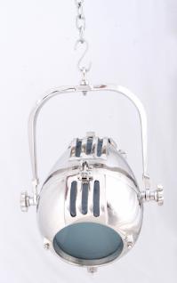 Hängeleuchte Lumina aus Metall mit Alufinish